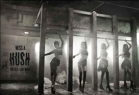Miss A Hush Korean album