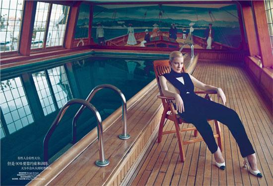 Cate Blanchett Chinese Harpers Bazaar Magazine