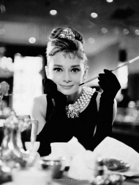 Audrey Hepburn Breakfast at Tiffany