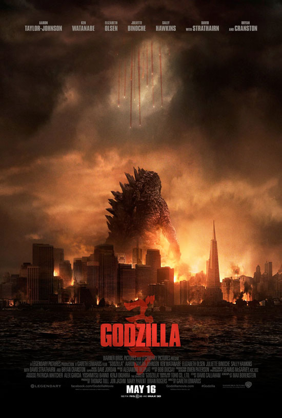 Godzilla 2014 Warner Bros movie