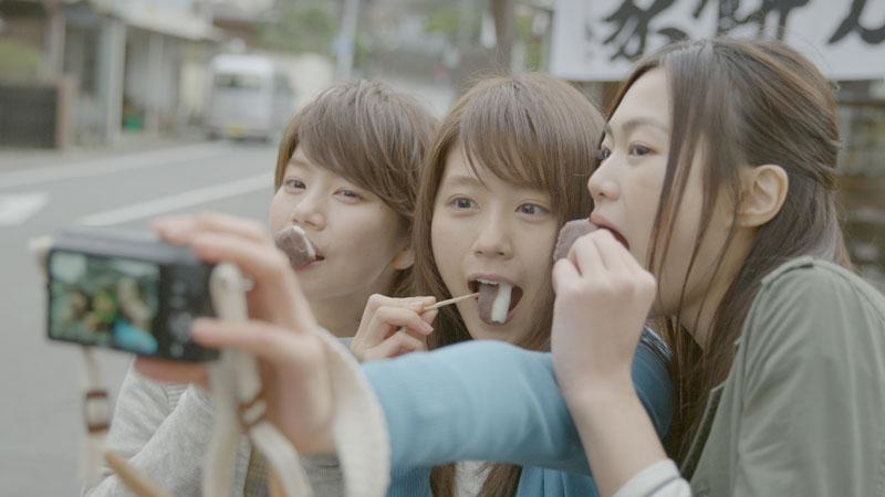 Kasumi Arimura Toshiba FlashAir SD Card