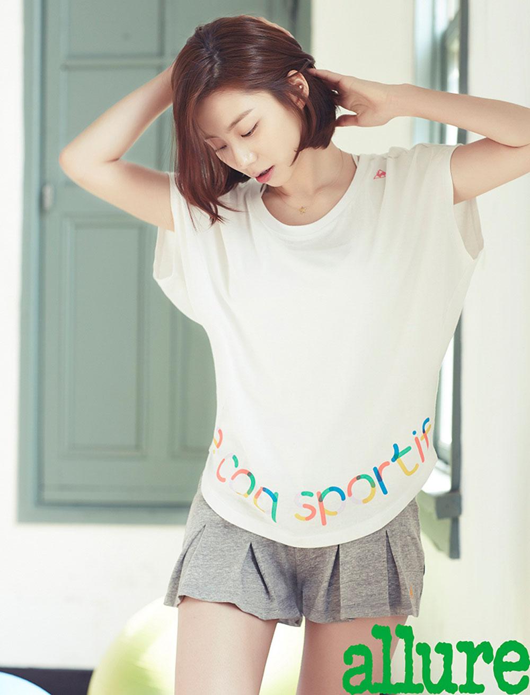 Park Soo Jin Korean Allure Magazine