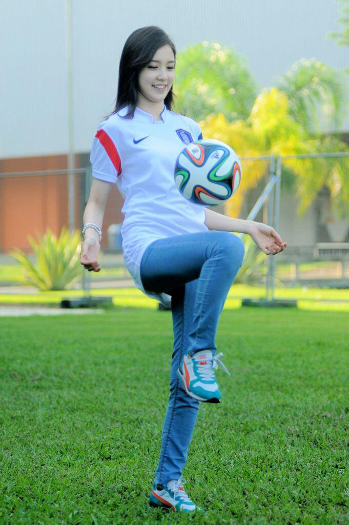 Korean announcer Jang Yewon FIFA World Cup