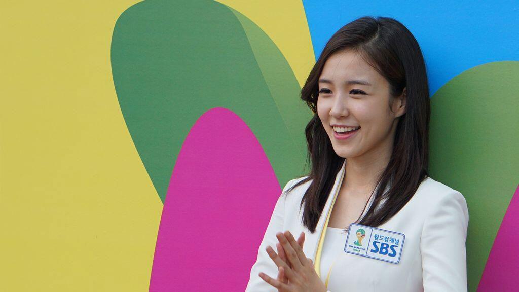 Korean SBS sport announcer Jang Yewon