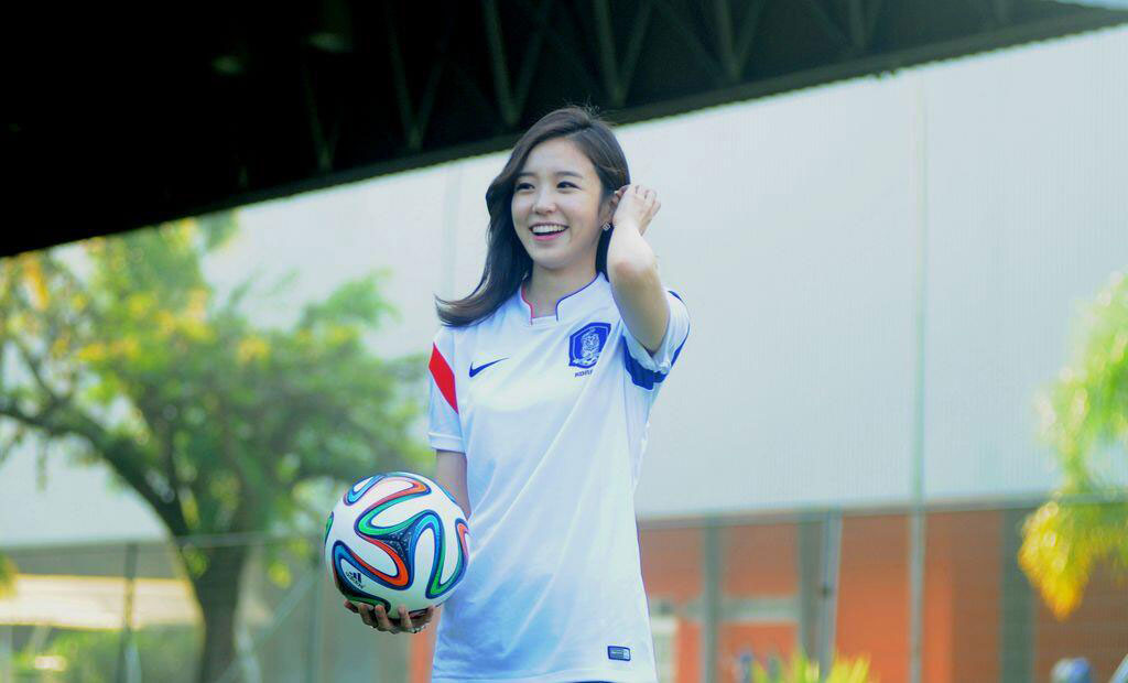 Announcer Jang Yewon South Korean kit