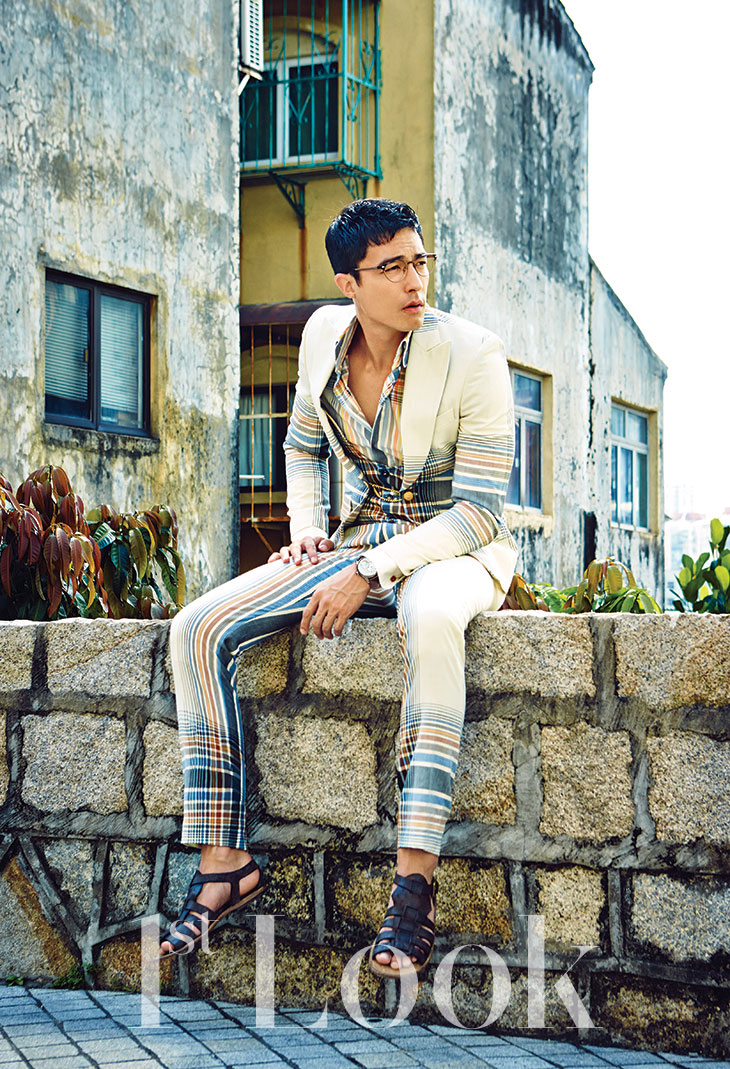 Daniel Henney 1st Look Magazine in Macau