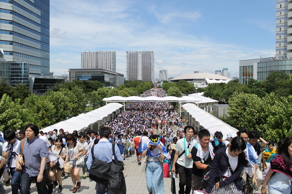 Comiket 86 crowd