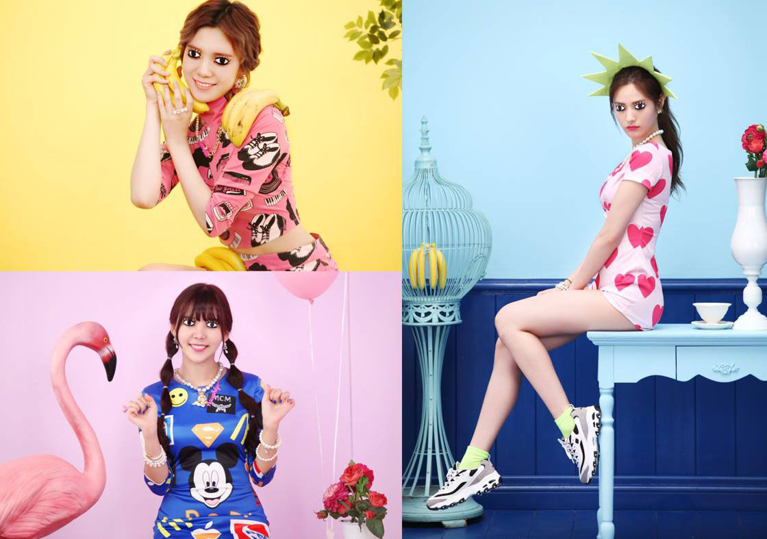 Orange Caramel My Copycat Korean single