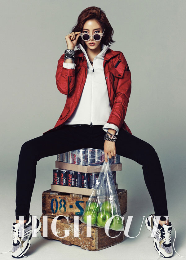 Son Dambi High Cut Magazine EXR