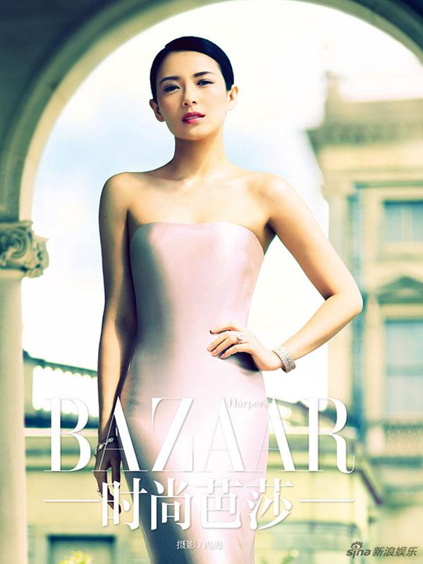 Zhang Ziyi Chinese Harpers Bazaar Magazine