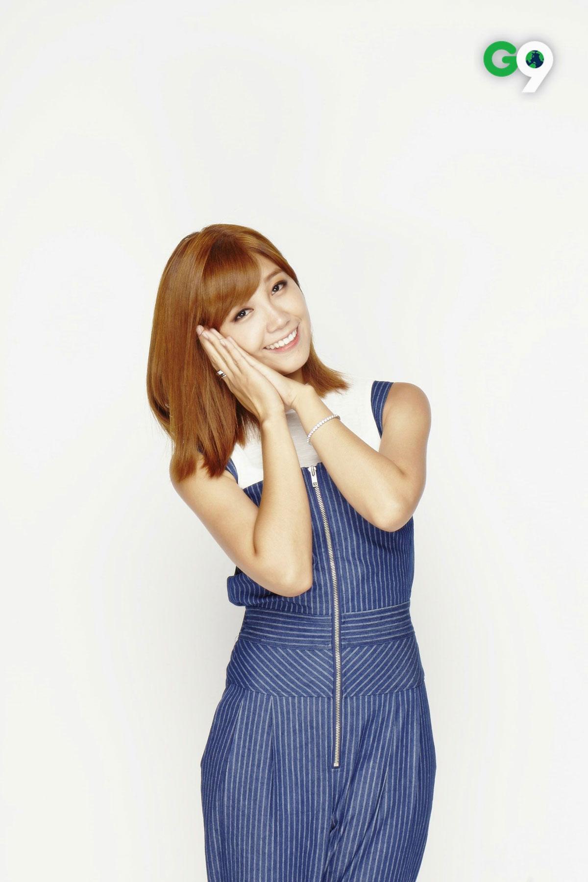 Apink Eunji G9 advertisement