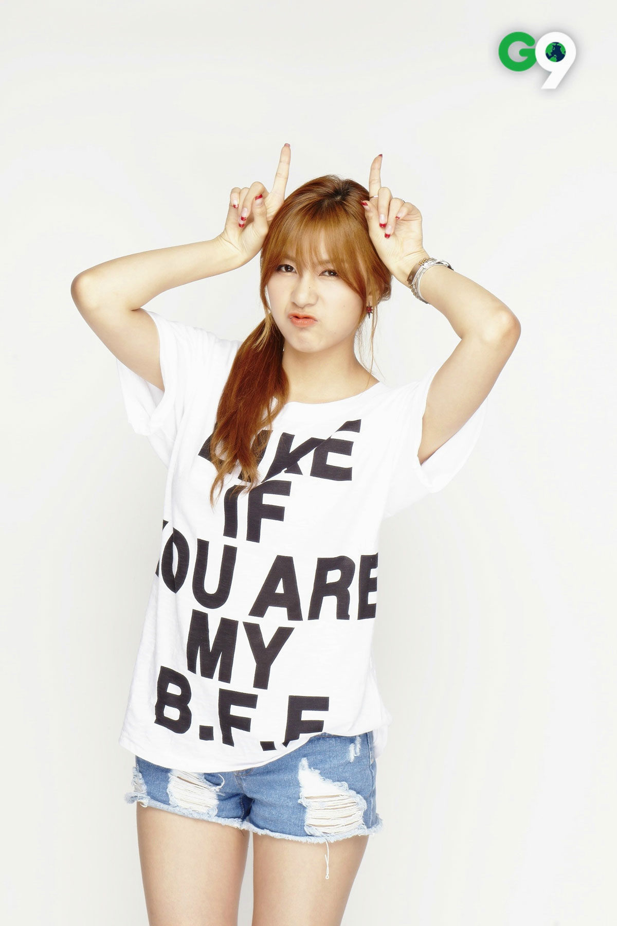 Apink Hayoung G9 advertisement