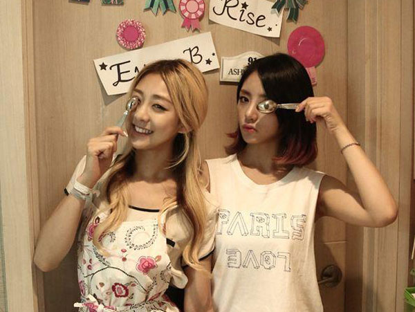 RIP Ladies Code EunB and RiSe