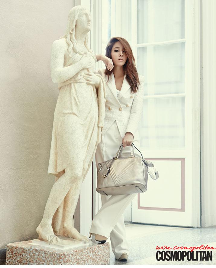 Lee Min-jung Cosmopolitan Korea Vincis Bench