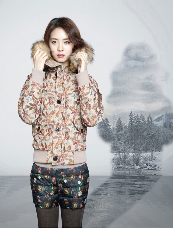 Lee Yeon Hee The North Face Korea 2014 FW