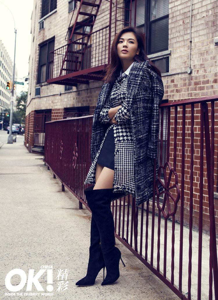 Liu Tao Chinese OK Magazine in New York