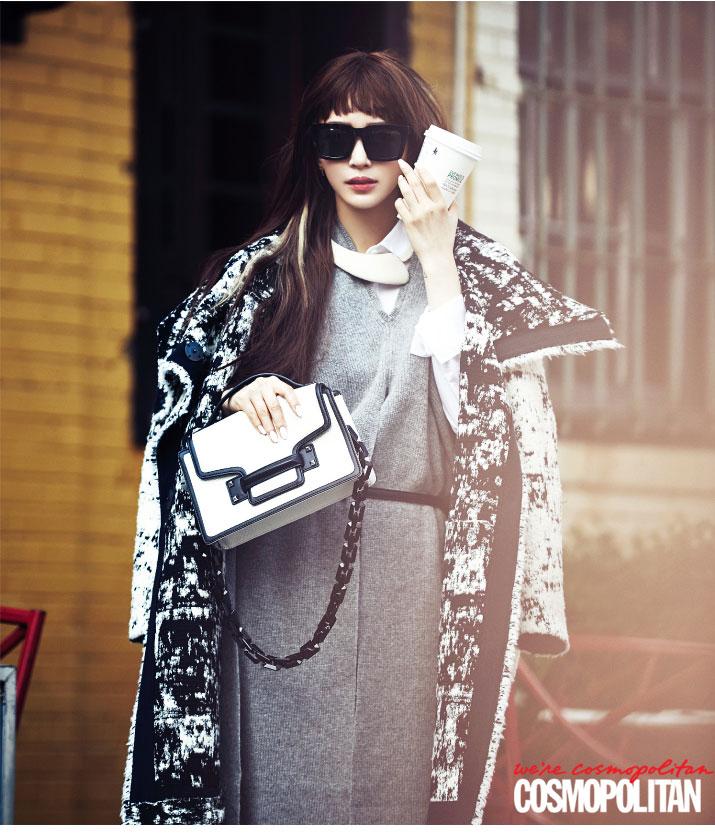 Han Ye Seul New York Cosmopolitan Magazine