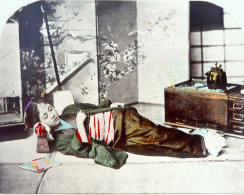Adolfo Farsari vintage Japanese women photo