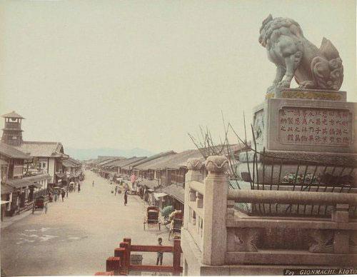 Adolfo Farsari vintage Japanese Kyoto