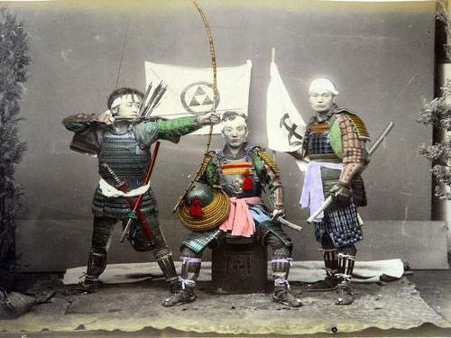 Adolfo Farsari vintage Japanese warriors