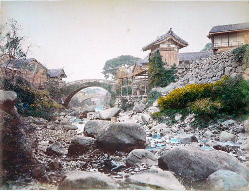 Adolfo Farsari vintage Japanese scenery