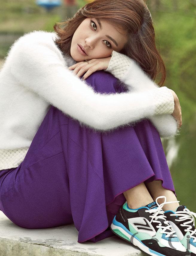 Oh Yeon Seo CeCi Korea in Da Nang
