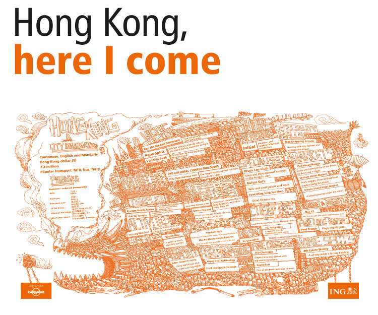 ING Group cities in a click Hong Kong