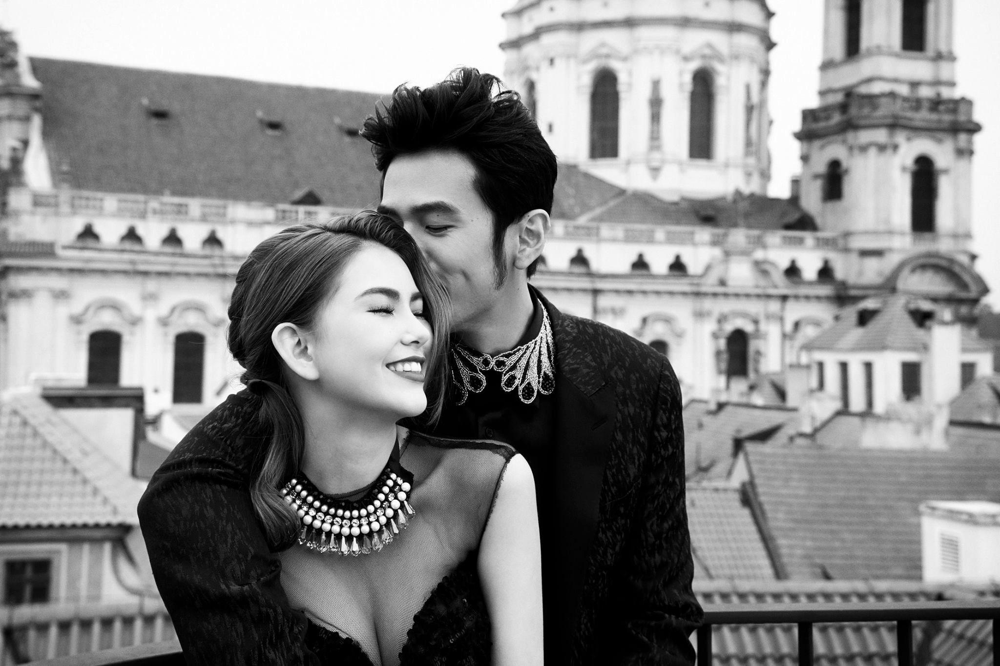Jay Chou and Hannah Quinlivan European wedding