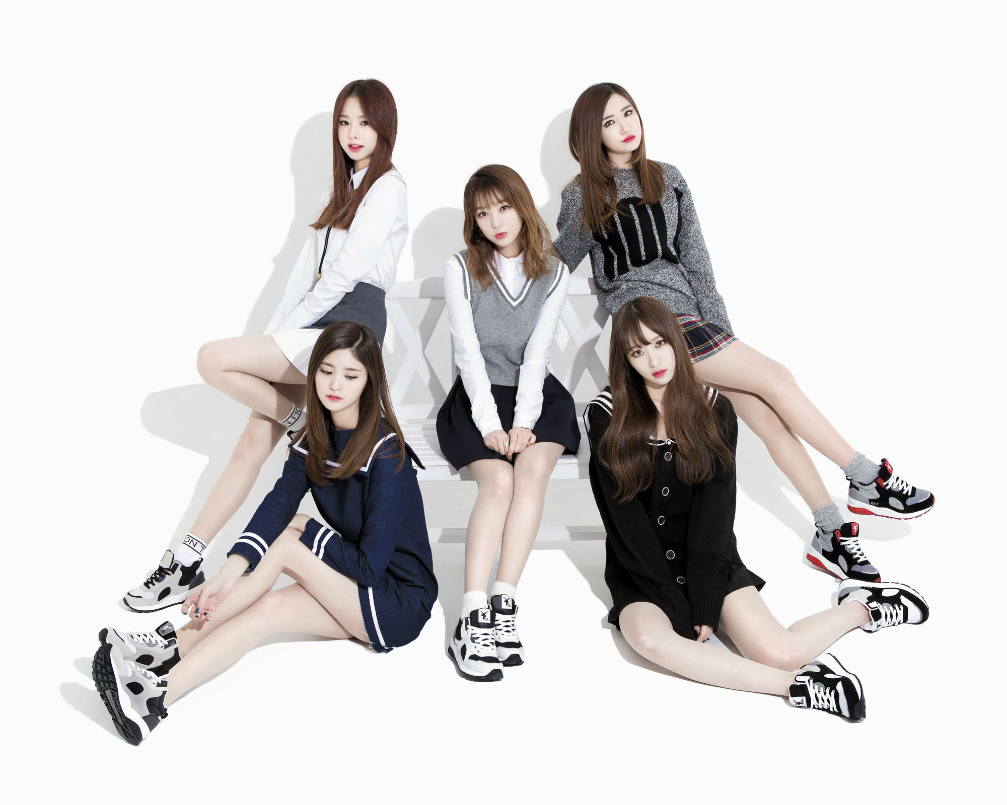EXID Korean Akiii Classic sneakers