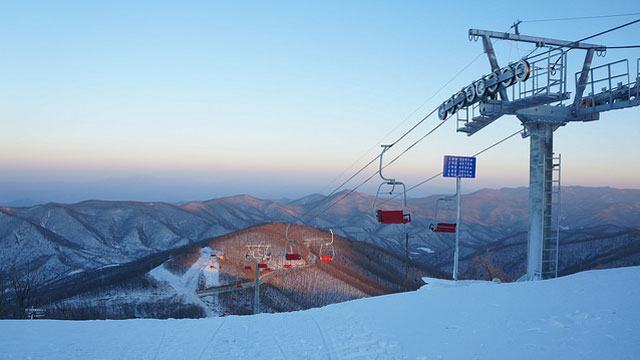 Wonsan City Masikryong Ski Resort