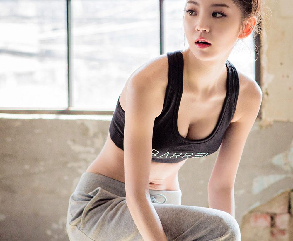 Rock Chae Eun Chuu Barrel fashion