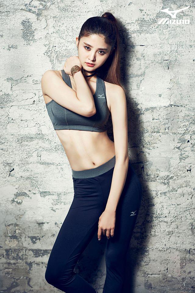 EXID Junghwa Mizuno Korea 2015 SS