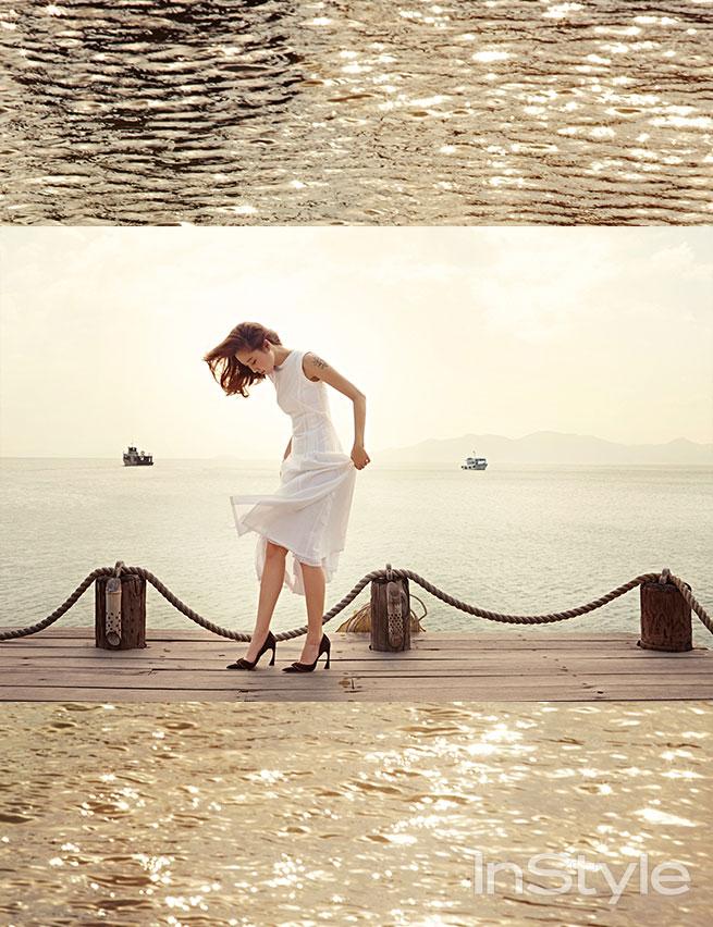 Gong Hyo Jin Instyle Magazine Nha Trang