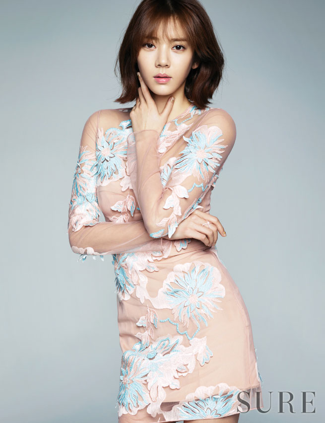 Son Dam Bi Sure Magazine feminine style