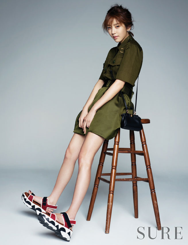 Son Dam Bi Sure Magazine urban style