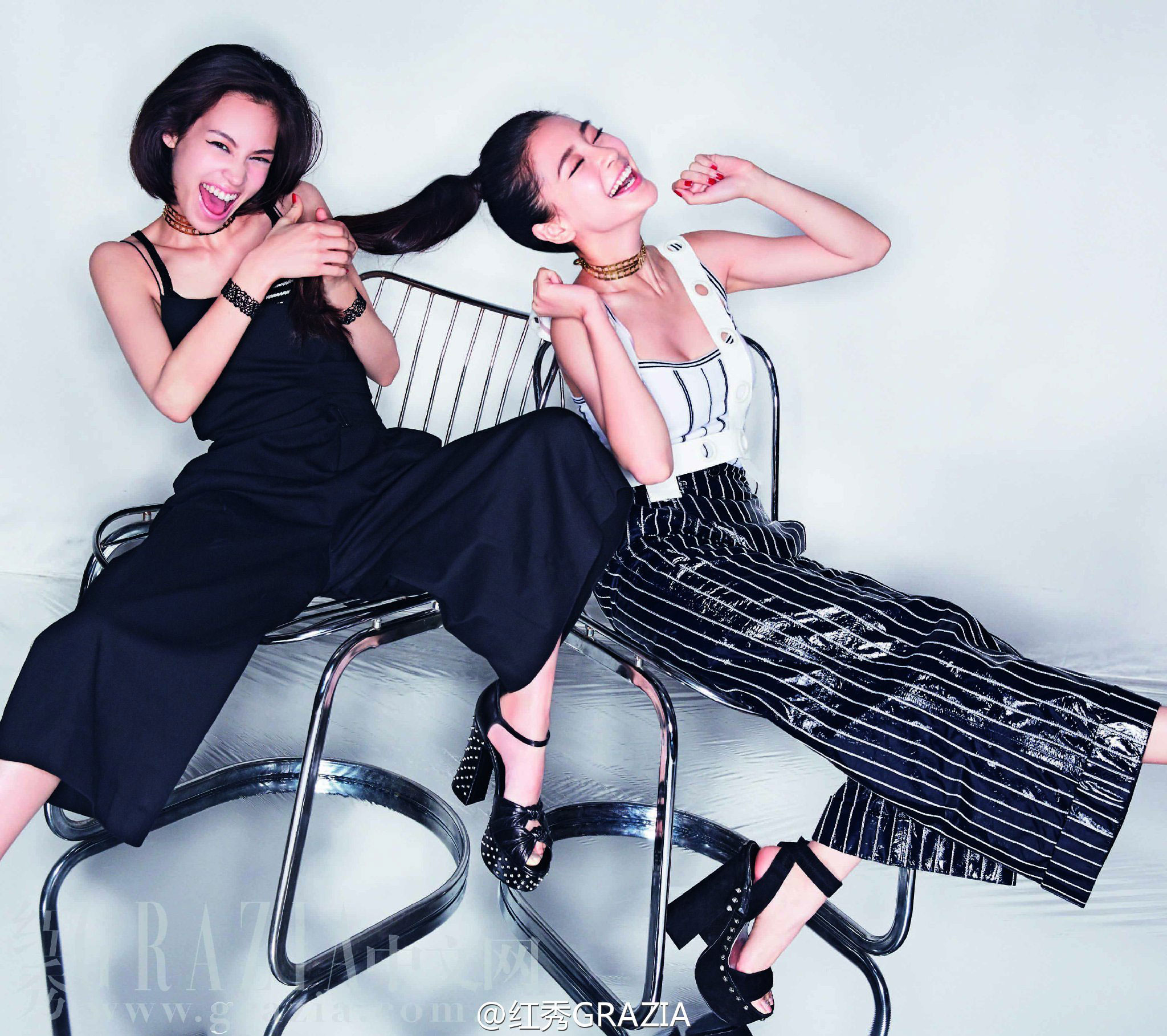 Angelababy Kiko Mizuhara Grazia Magazine