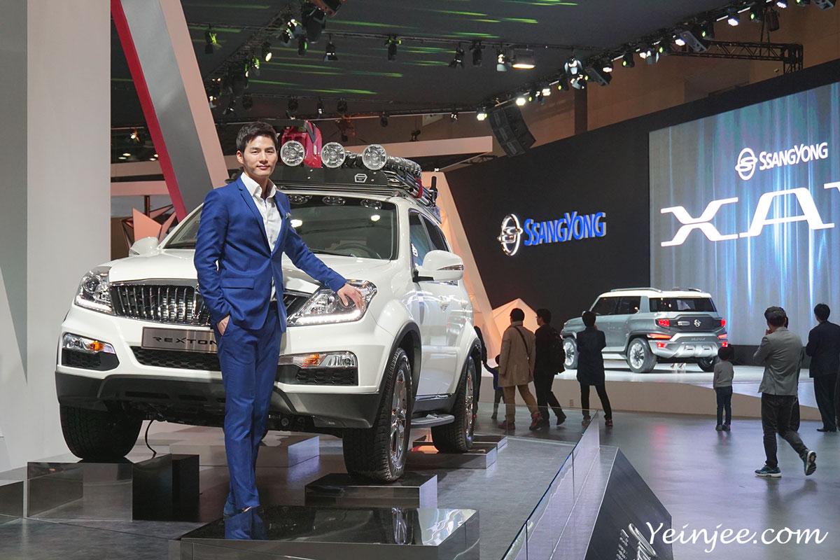 Seoul Motor Show 2015 Ssangyong Rexton