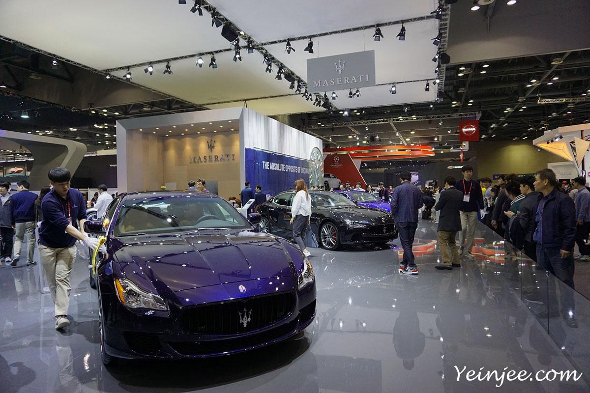 Seoul Motor Show 2015 Maserati cars