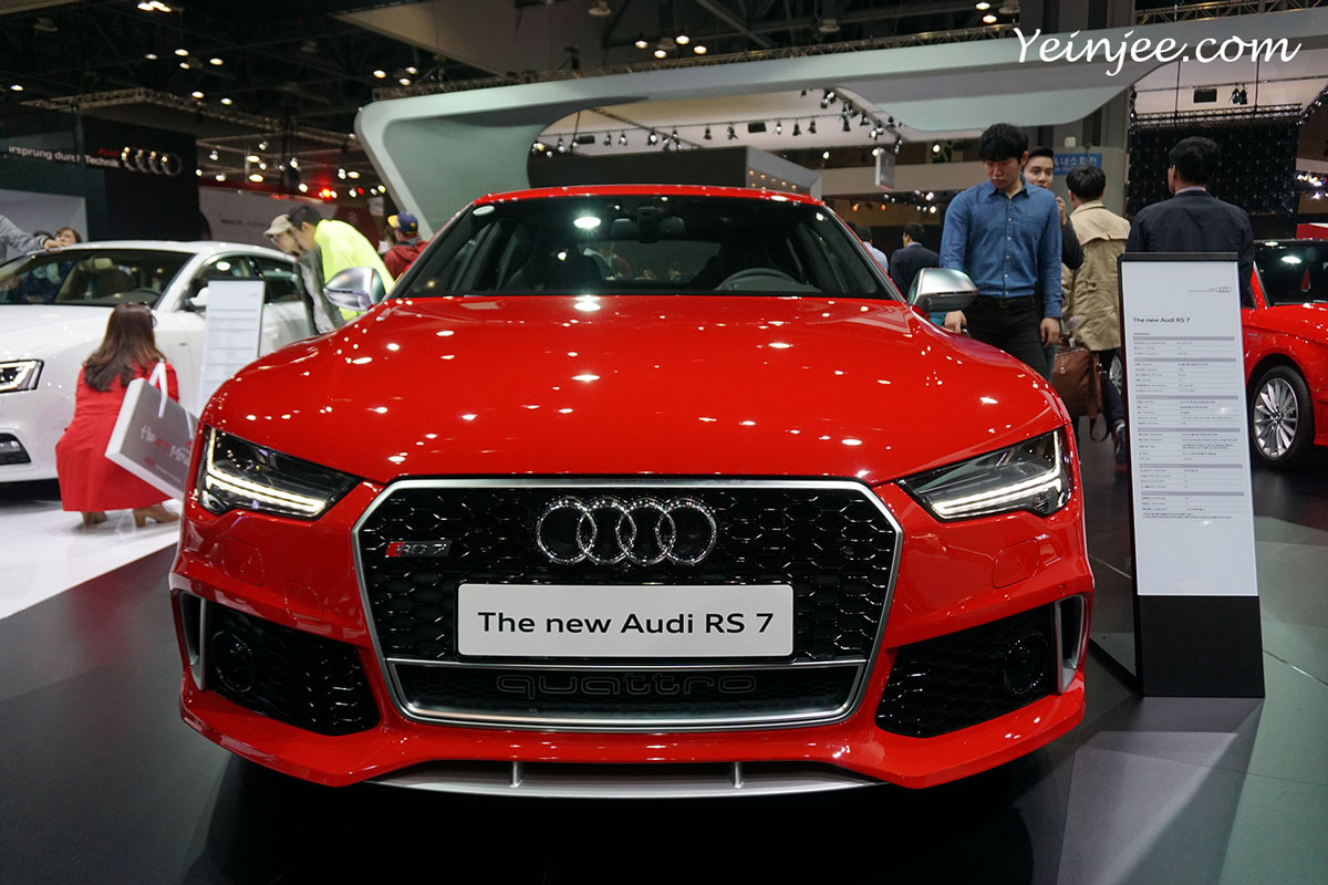 Seoul Motor Show 2015 Audi R7