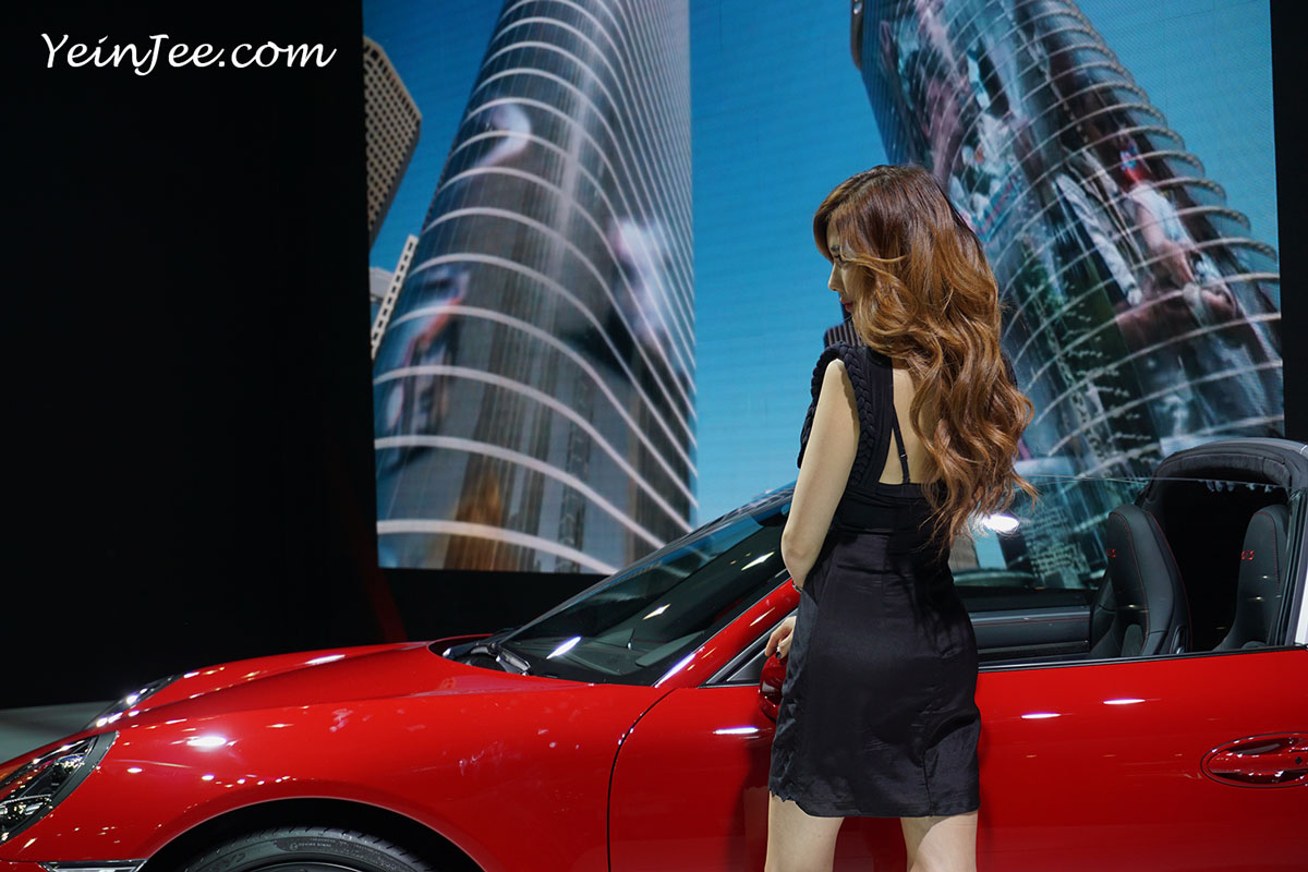 Seoul Motor Show 2015 model Kim Ha Yul