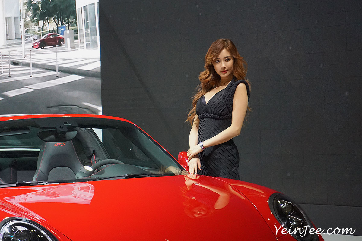 Seoul Motor Show 2015 Porsche Kim Ha Yul