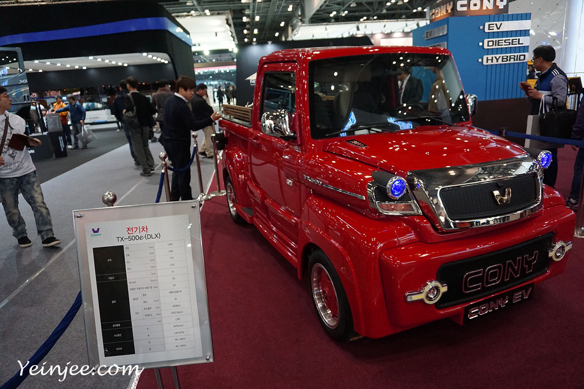 Seoul Motor Show 2015 Cony TX500