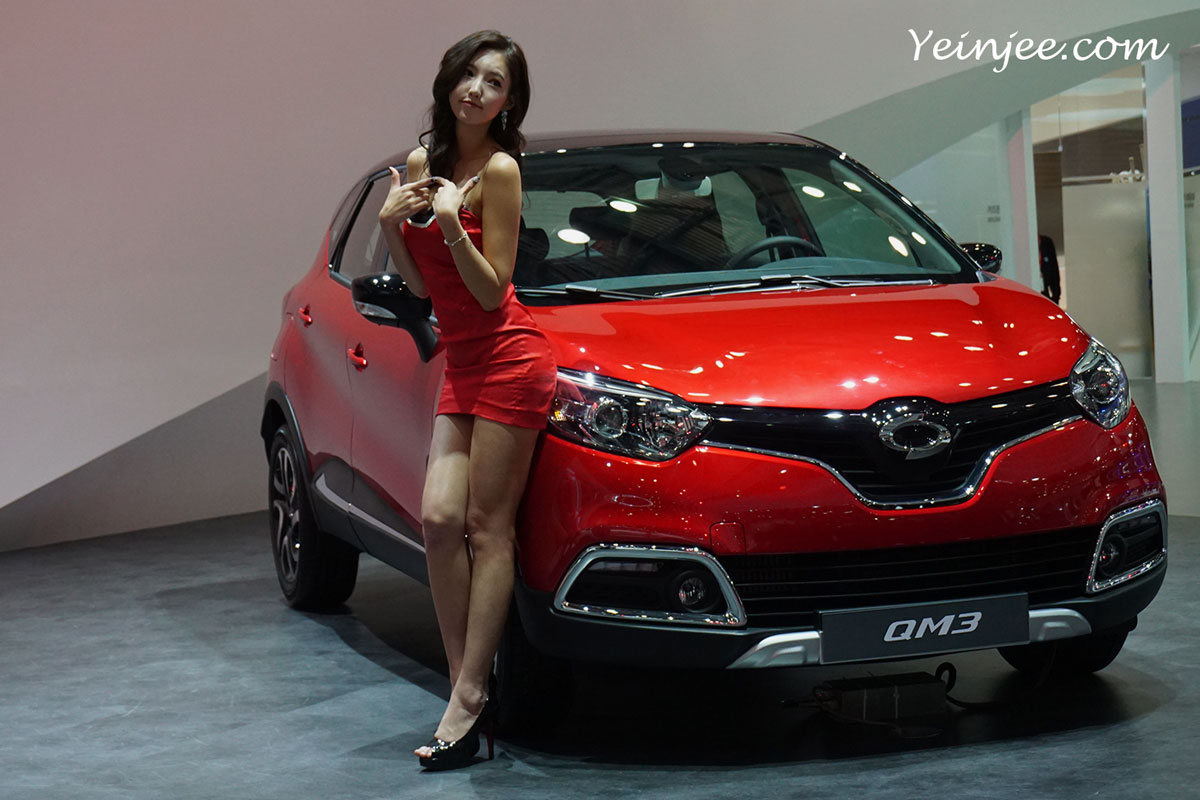 Seoul Motor Show 2015 Renault Samsung Kim Bora