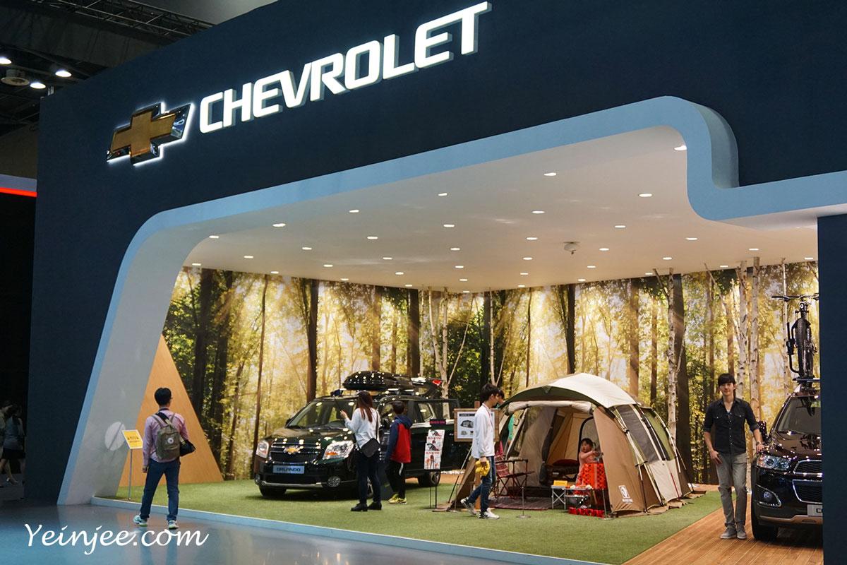 Seoul Motor Show 2015 Chevrolet camping van