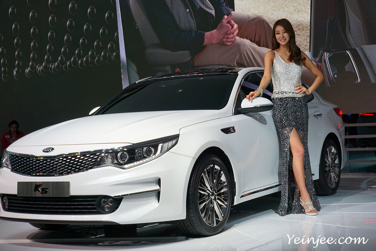 Seoul Motor Show 2015 KIA K5