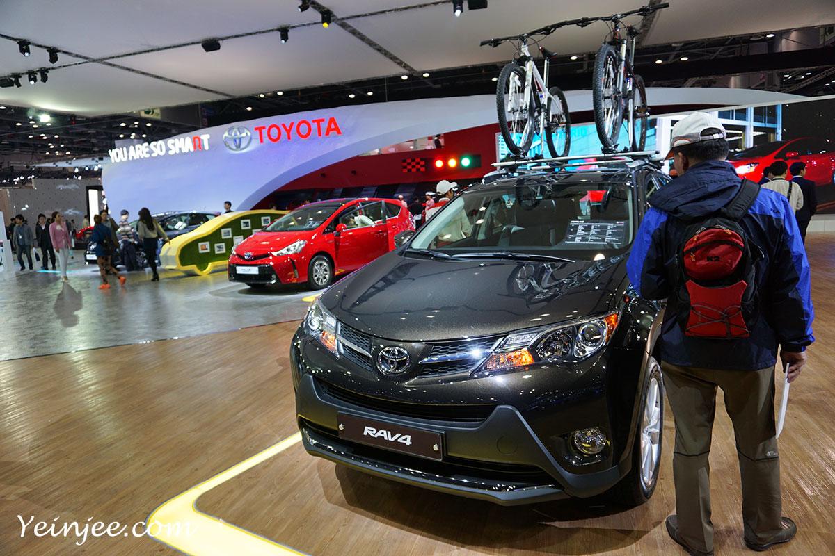 Seoul Motor Show 2015 Toyoto RV4