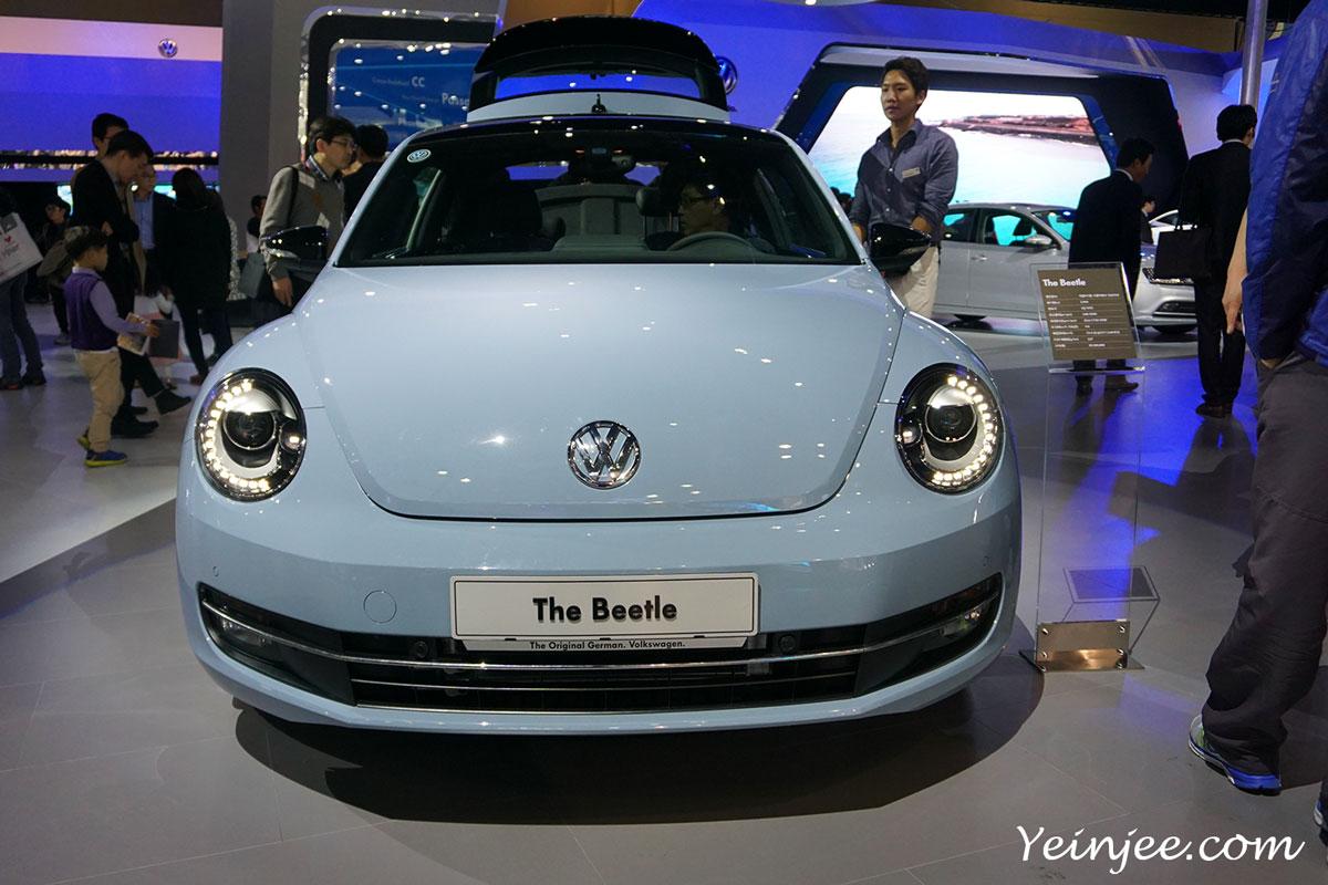 Seoul Motor Show 2015 Volkswagen Bettle