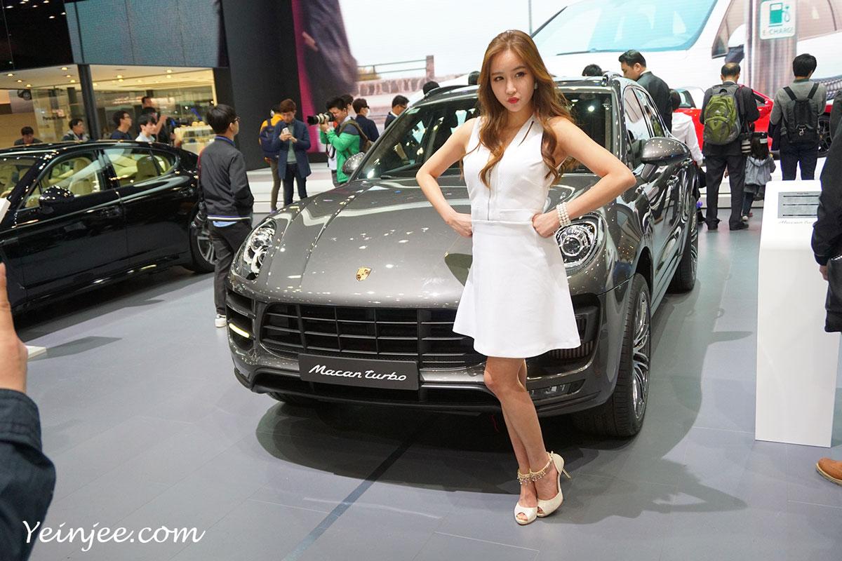 Seoul Motor Show 2015 Porsche Oh Ah Hee