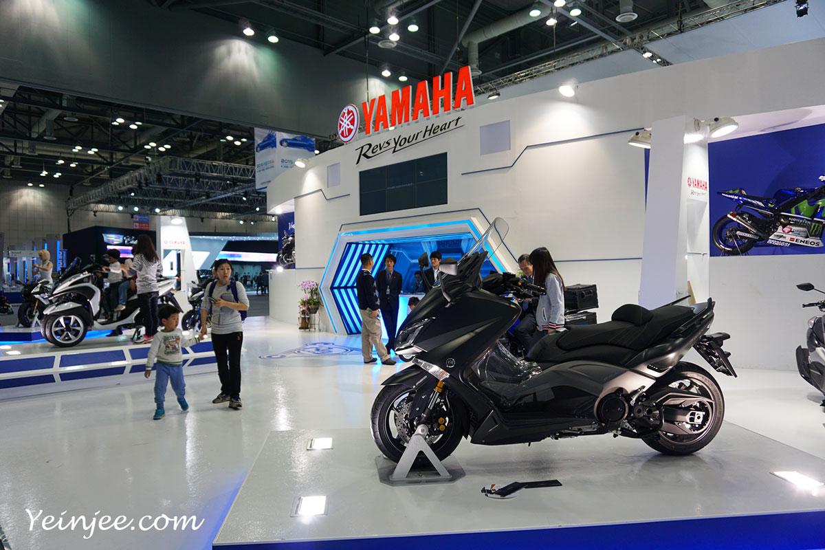 Seoul Motor Show 2015 Yamaha Motorcycles