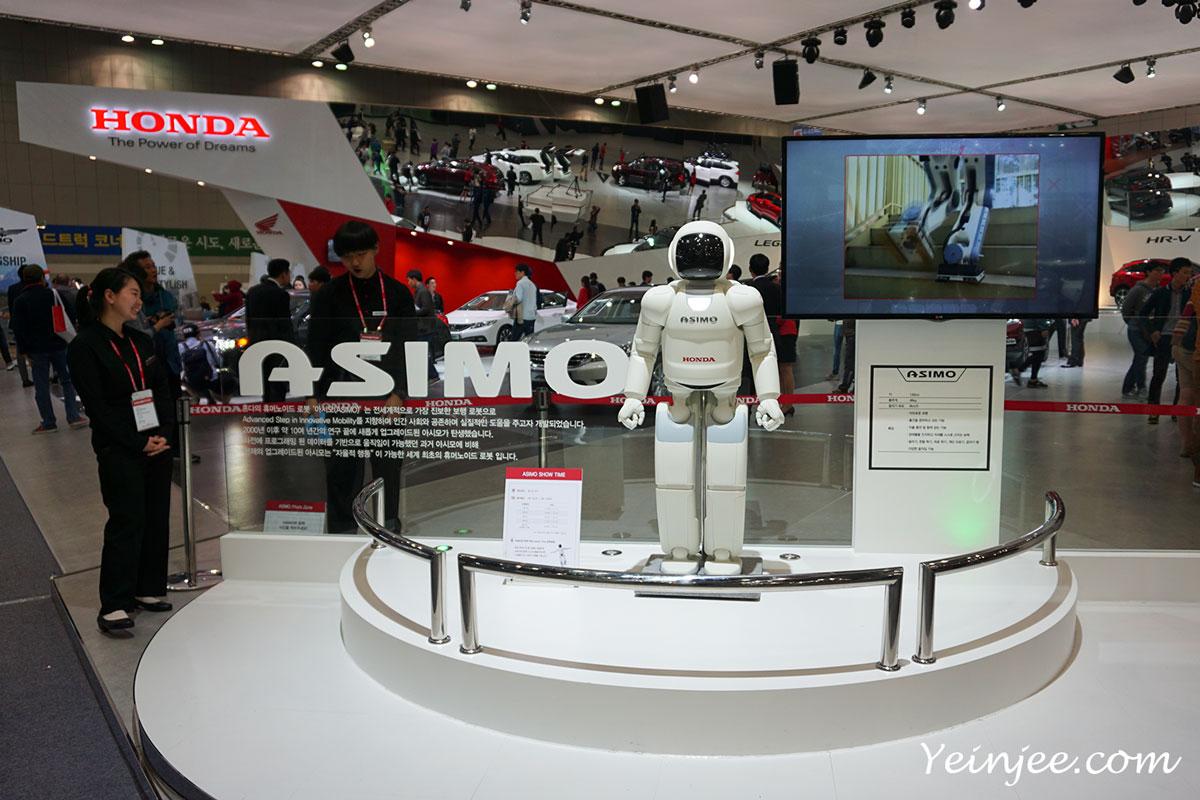 Seoul Motor Show 2015 Honda Asimo Robot